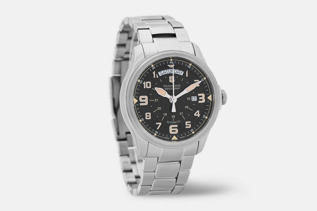 Victorinox Infantry Vintage DayDate Automatic Watch on Massdrop for $250!