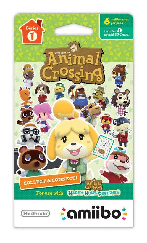 Animal Crossing Amiibo Figures: Buy One, Get Three Free $7.99
