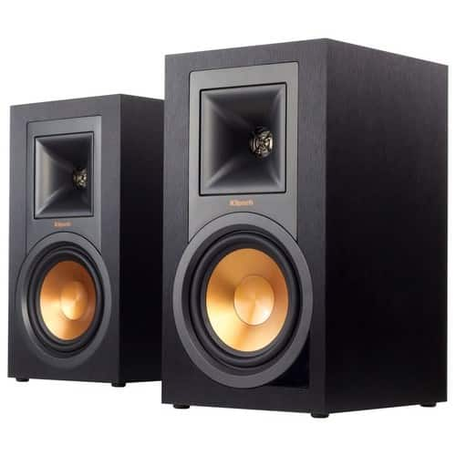 Klipsch R-15PM Powered Speakers (Pair) - Black. Open-Box from $275.99 $349.99