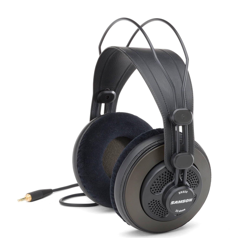 Samson SR850 Semi-Open-Back Studio Reference Headphones ($32.80 + Free Shipping)