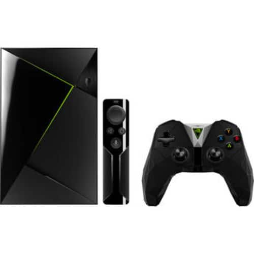 NVIDIA SHIELD TV Pro Home Media Server with Free HyperX Cloud Stinger Gaming Headset for PC, Xbox One, PS4, Wii U $299.99