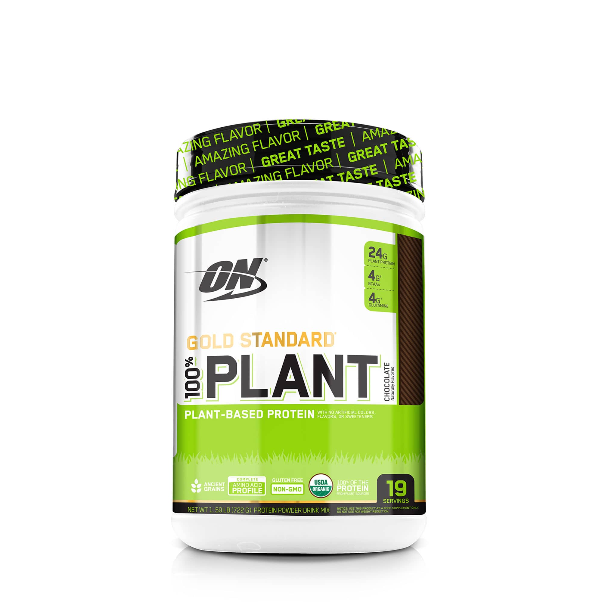 Optimum nutrition gold standard® 100% plant protein $16.66 each when you get 3