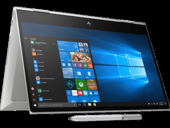 HP ENVY x360 Laptop - 15t touch  - 10th Gen Intel® Core™ i7 processor 8 GB memory; 256 GB Intel® SSD storage;