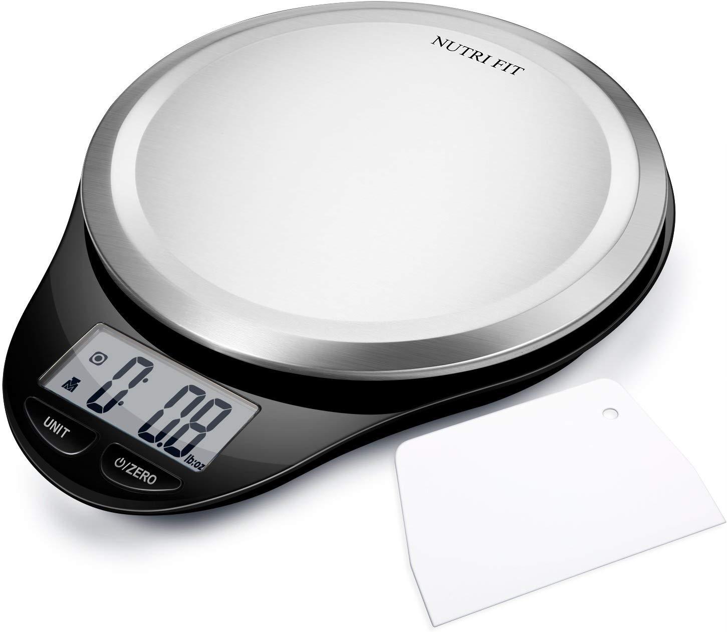 Digital Kitchen Scale with Dough Scraper $6.66AC