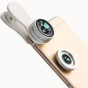 Evershop Universal 2-in-1 Cell Phone Camera Lens Kit $6.99 @Amazon