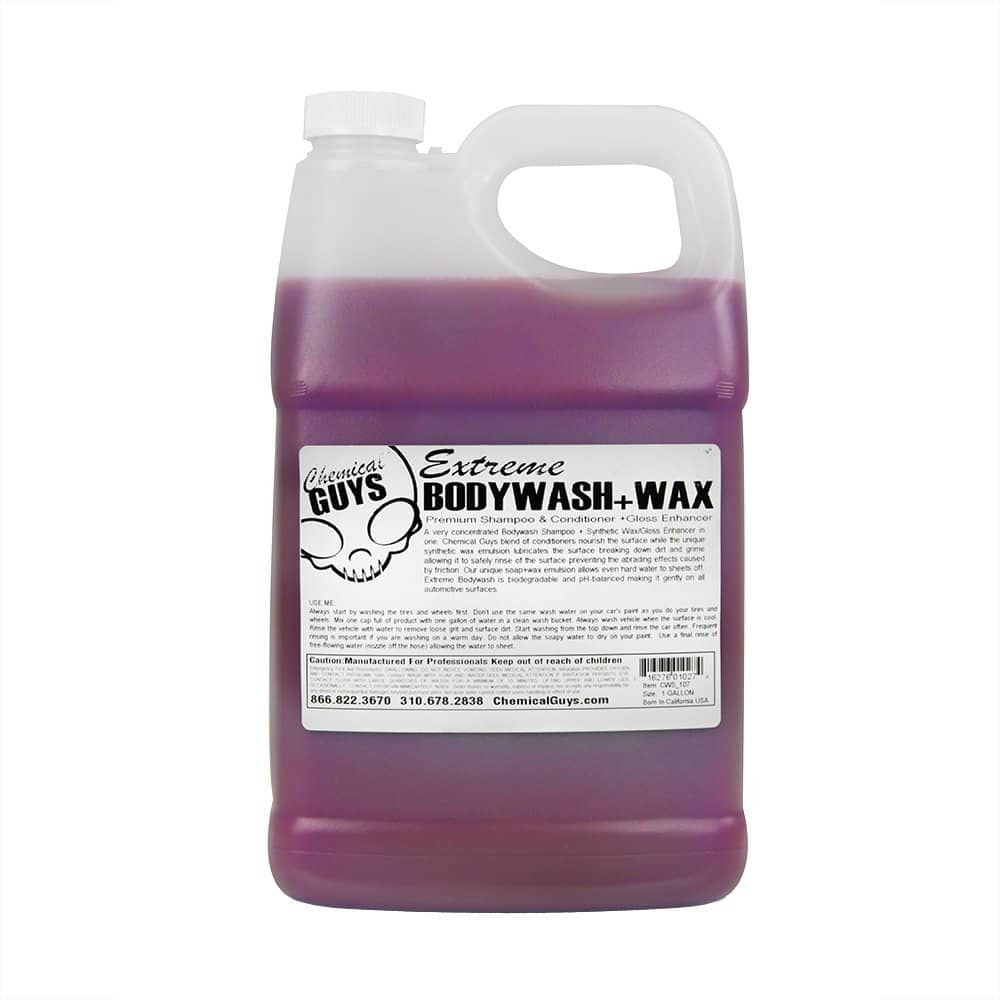 Chemical Guys CWS_107 Extreme Body Wash and Synthetic Wax Car Wash Shampoo (1 Gal) $27.11