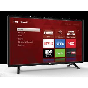 32-inch TCL Roku TV, Ebay, Reburbished: $126 free shipping