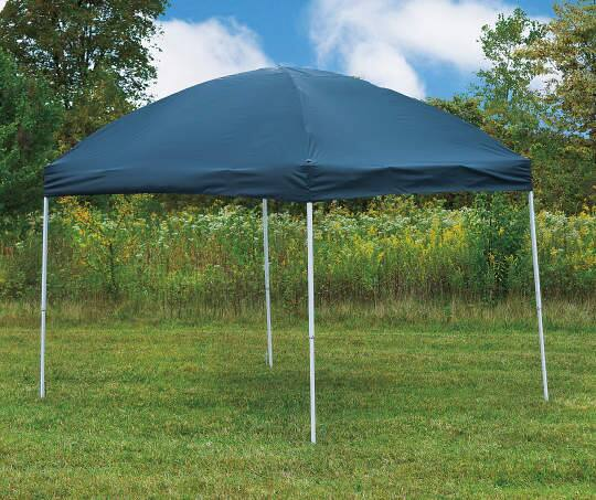 Pop-up Straight-Leg Canopy - 10 x 8 - Big Lots - $48