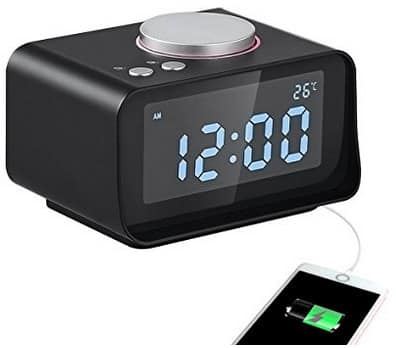 40% OFF USB Digital Alarm Clock Radio $19.19