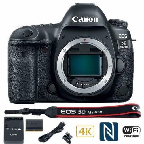 Canon EOS 5D Mark IV 30.4MP Digital SLR Camera - Black (Body Only) $2699.99