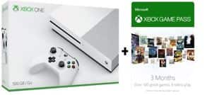 Microsoft Xbox One S 500GB Console + 3 Month Game Pass $189.99