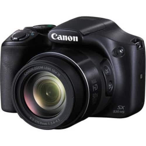 Canon PowerShot SX530 HS Digital Camera with Accessories Kit (Save $130.00) $249