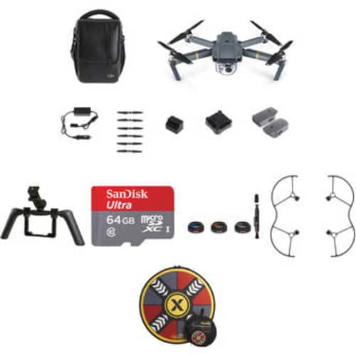 Mavic Pro Fly More Combo with Katana Tray and Accessories (Save $170.00) $1258.95