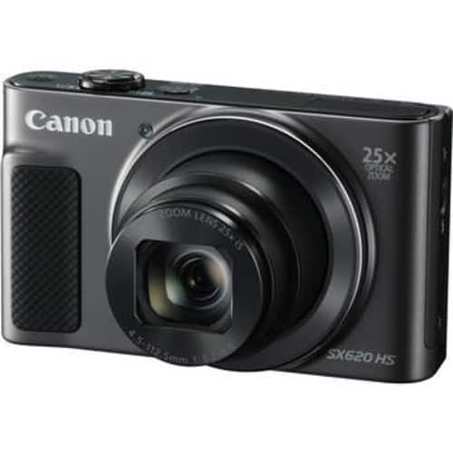Canon PowerShot SX620 HS Digital Camera with Free Accessory Kit (Black) $229