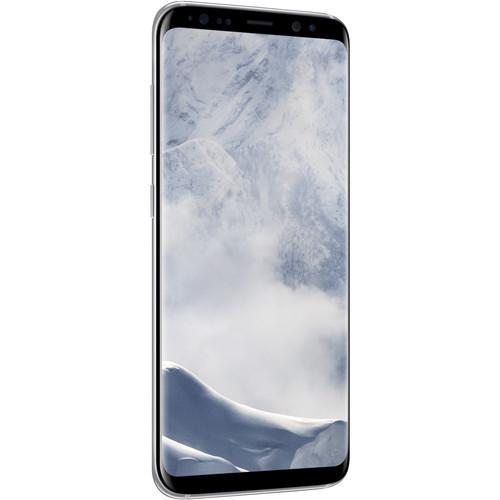 Samsung Galaxy S8 SM-G950F 64GB Smartphone (Unlocked, Arctic Silver) (Save $35) $624.99