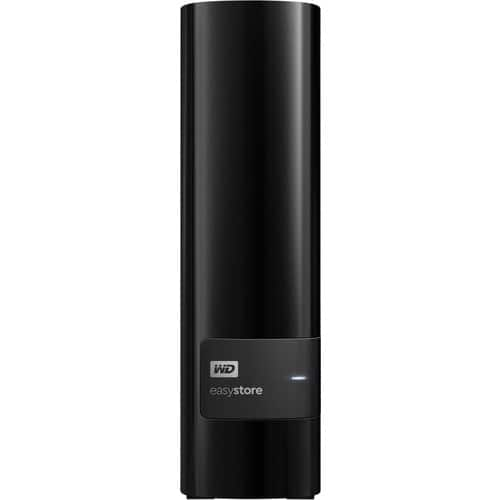 WD - easystore® 4TB External USB 3.0 Hard Drive - Black (Save $90) $109.99