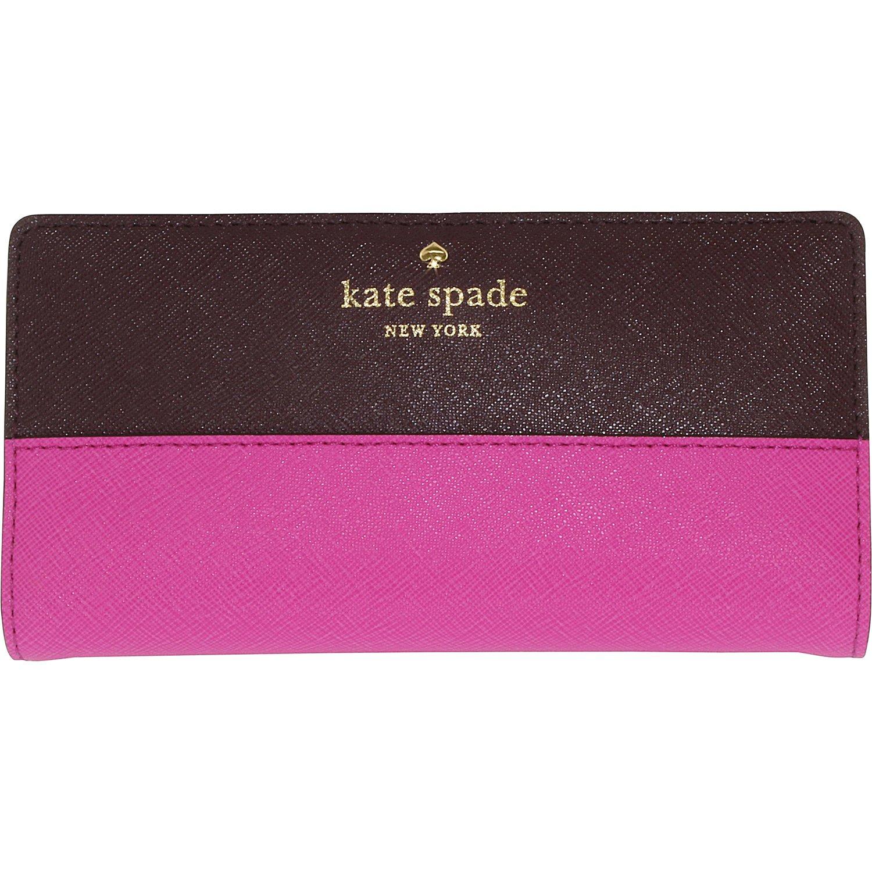 Kate Spade Women's Cedar Street Stacy Leather Wallet Satchel $69.99