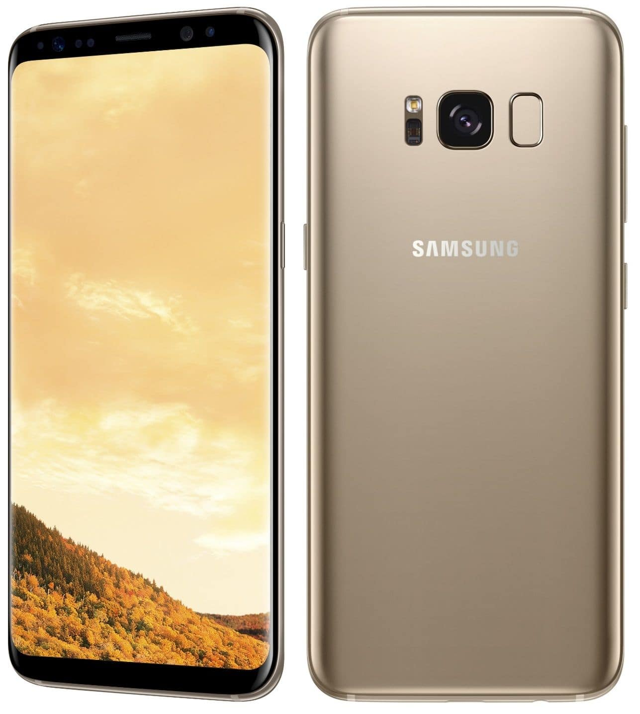 Samsung Galaxy S8 SM-G950FD Dual Sim (FACTORY UNLOCKED) Black Gold Gray Blue $569.99