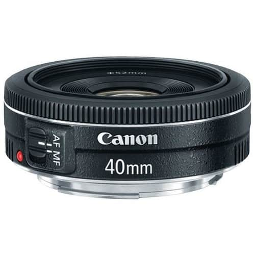 Canon EF 40mm f/2.8 STM Lens - Fixed $149