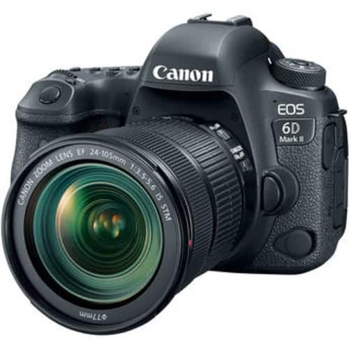 EOS 6D Mark II DSLR Camera with 24-105mm f/3.5-5.6 Lens $2099