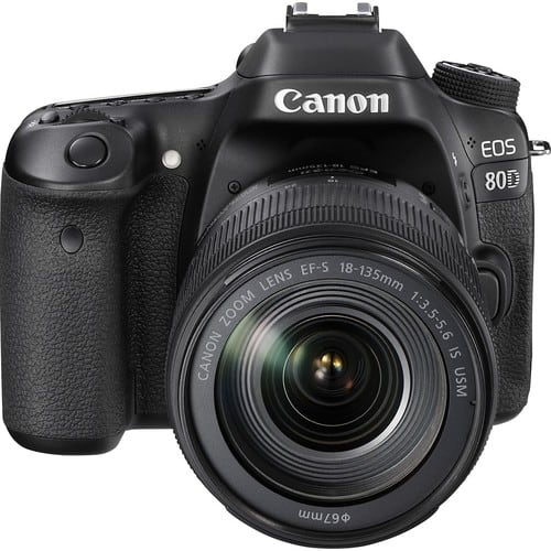 Canon EOS 80D DSLR Camera With 135mm IS USM Lens $1299