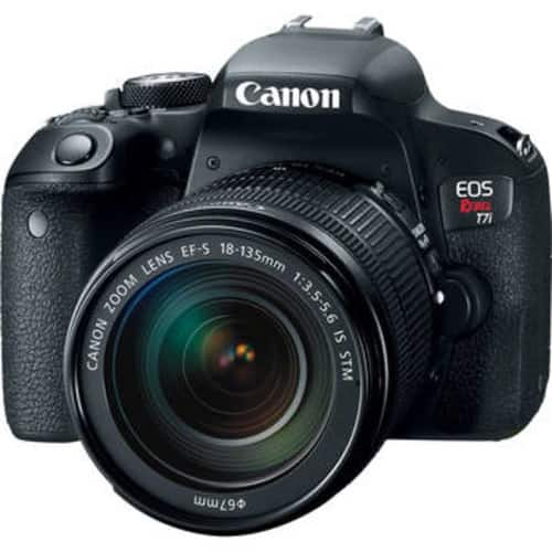 EOS Rebel T7i DSLR Camera with 18-135mm Lens $999