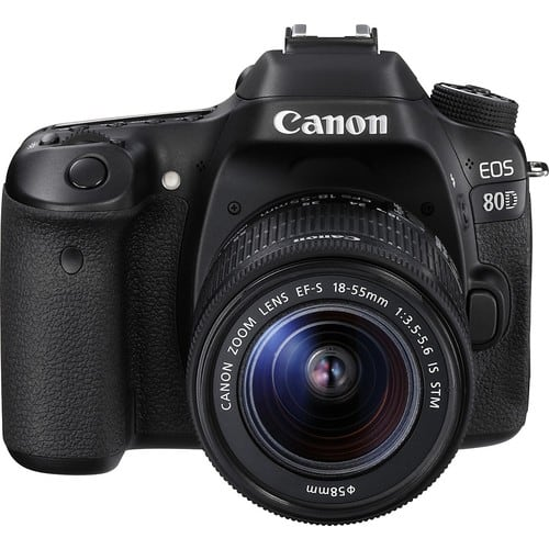 EOS 80D DSLR Camera with 18-55mm Lens $1059