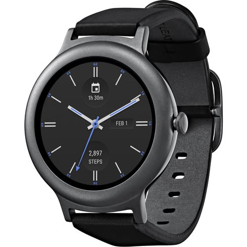 LG Watch Style Android Wear 2.0 Smartwatch (Titanium ...