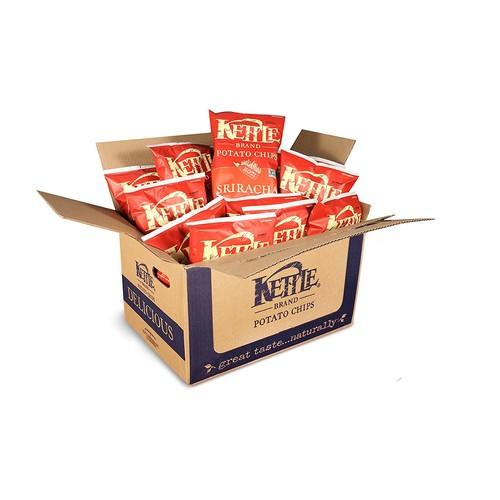 Kettle Brand Potato Chips, Sriracha, 8.5-Ounce Bags (Pack of 12) $18.73