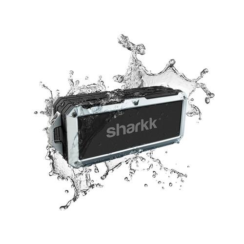 Waterproof Bluetooth Speaker Sharkk 2O IP67 Bluetooth Speaker Outdoor Pool Beach and Shower Portable Wireless Speaker [20 Watt] $44.95