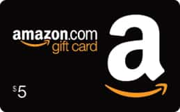 Get a $5 credit for reloading your Amazon.com Gift Card Balance with $100 or more [YMMV]