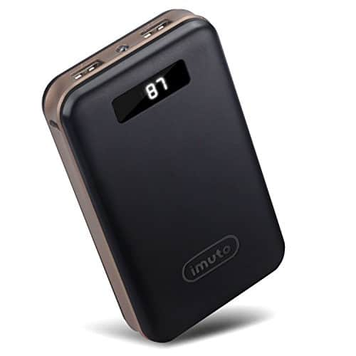 iMuto 20000mAh Portable Charger Compact Power Bank External Battery Pack $17.99 + free shipping