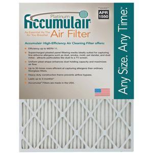 Accumulair Platinum MERV 11 Air Filter $6.29