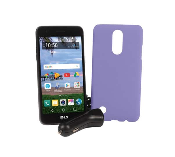Tracfone LG Rebel 2 1500 min texts, 1.5GB data, 1 year of service $60 @QVC For New Customers, Otherwise $65