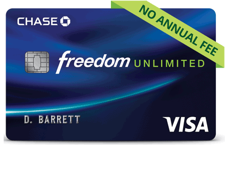 Chase Freedom Unlimited® Credit Card: $200 Bonus after $500 Spend