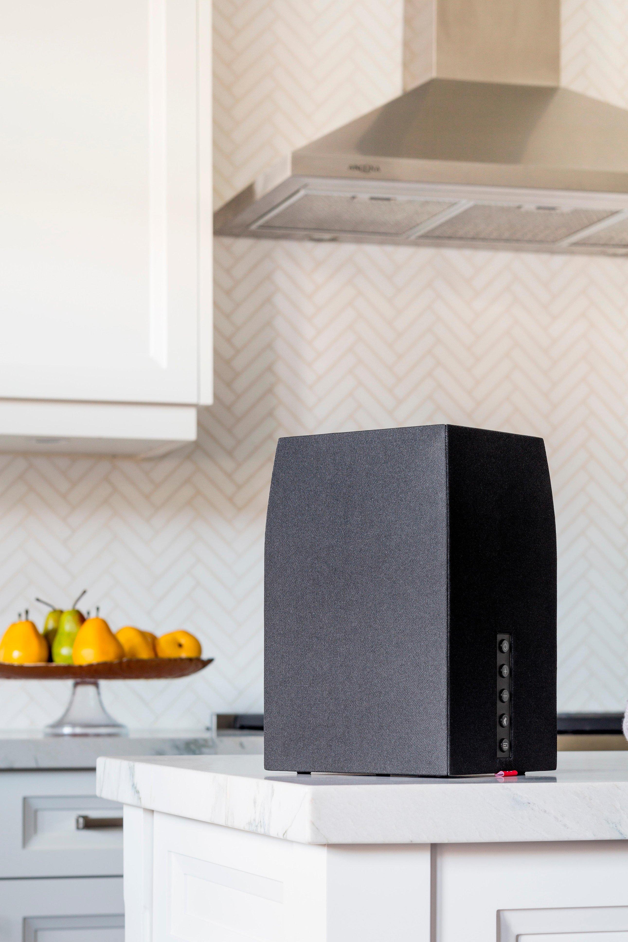 """MartinLogan Bravado 5"""" Powered Wireless Speaker (Each) Black/walnut BRAVWAD - Best Buy $279.98"""