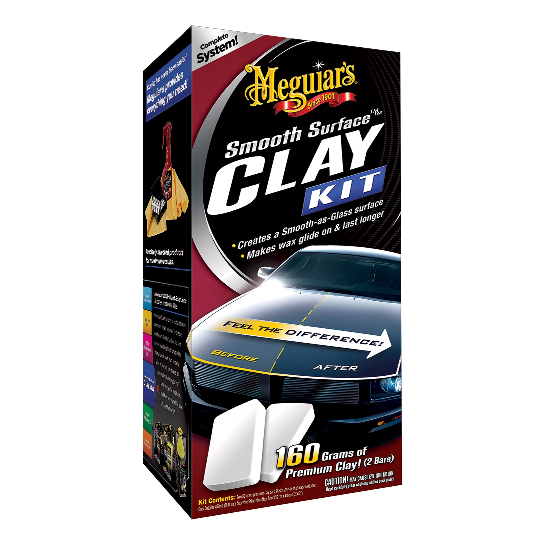 Meguiar's G1016 Smooth Surface Clay Kit  $13.99 - $2.50 coupon $11.49
