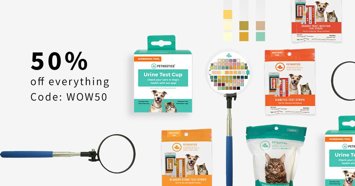 Petnostics [Seen on Shark Tank] 50% Off everything site-wide + Free Shipping Code [WOW50] Starts now! $5