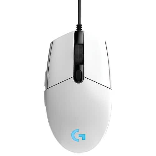 G203 Prodigy RGB Wired Gaming Mouse – White [White] $14.99