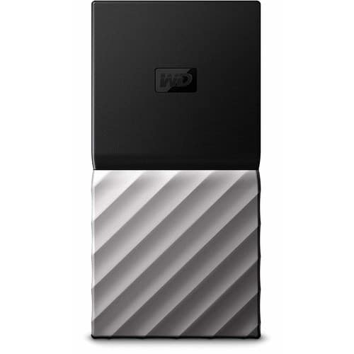 Western Digital My Passport 512GB USB 3.1 Type-C Solid State Drive - WD Portable $78.43