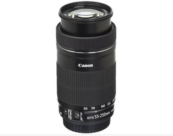 Canon EF-S 55-250mm F4-5.6 is STM Lens $124.99