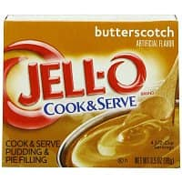 Amazon Deal: Jello Cook & Serve Pudding - Butterscotch or Tapioca pack of 6, $3.53/3.95 or less, fs with Amazon S&S