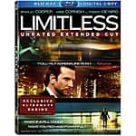 Limitless (Unrated Extended Cut Blu-ray + Digital)  $4.85