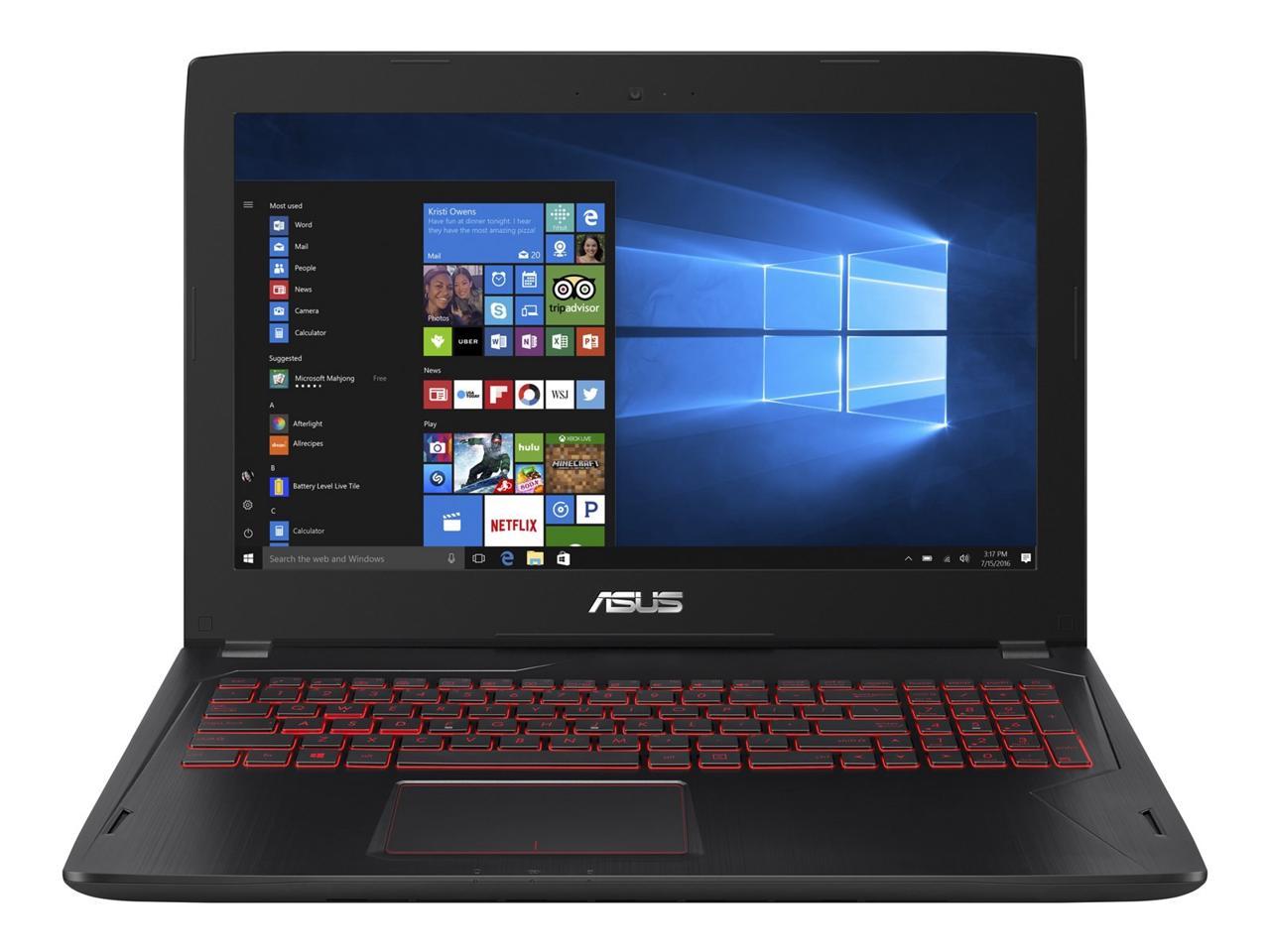 $970 - ASUS FX502VM-AS73 Gaming Laptop, i7 7700HQ, 16 GB DDR4, 1 TB HDD ,128 GB SSD, GTX 1060 $969.99