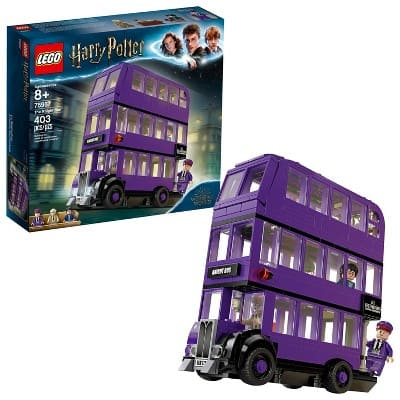 LEGO Harry Potter The Knight Bus Triple Decker Toy Bus Building Kit 75957 : Target