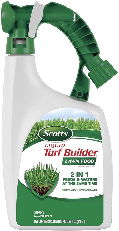 Scotts Liquid Turf Builder 32-oz 2000-sq ft $2.99 at Lowe's - $2.99