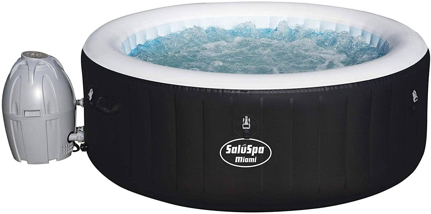 Bestway Inflatable hot tub $259 at Amazon
