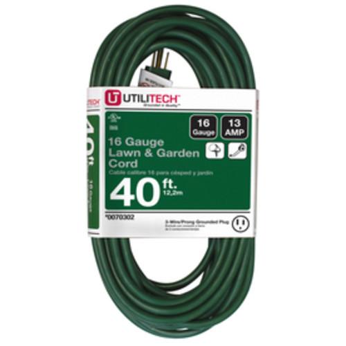 Lowe's Black Friday Deal is Back: Utilitech 40-ft 13-Amp 125-Volt 1-Outlet 16-Gauge Green Outdoor Extension Cord $9.97