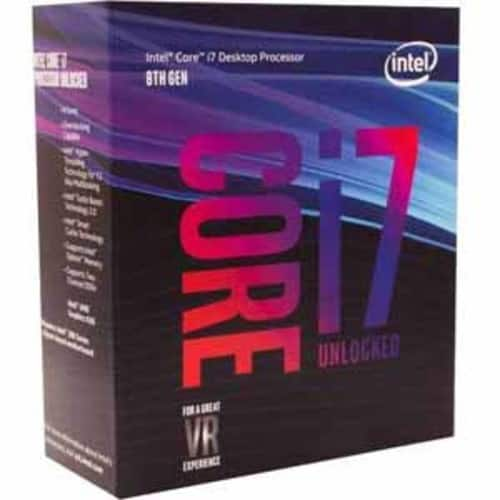 Intel 8th Gen Core i7-8700K Processor Unlocked (Coffee Lake) Up to 4.7GHz Max Turbo / 12MB Cache $370