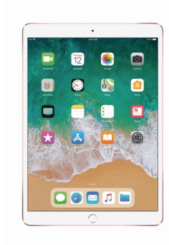 Apple - 10.5-Inch iPad Pro (Latest Model) with Wi-Fi - 64GB - Rose G $524